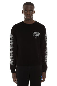 Printed cotton sweatshirt, Sweatshirts Off-White man