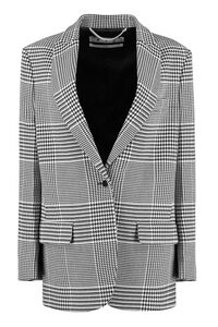 Houndstooth single-breasted blazer, Blazers Off-White woman