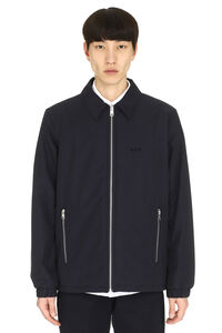 Léon techno fabric jacket, Raincoats And Windbreaker A.P.C. man