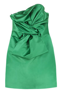 Satin bustier dress with maxi bow, Mini dresses Giuseppe Di Morabito woman