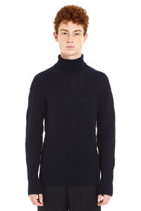 Long-sleeve wool turtleneck, Turtleneck Drumohr man