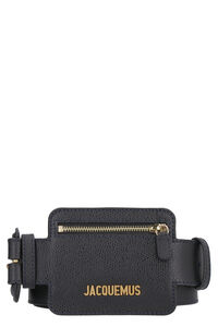 Leather belt with zippered pouch, Belts Jacquemus woman