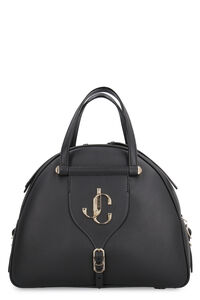 Varenne Bowling leather bag, Top handle Jimmy Choo woman