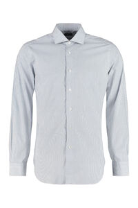 Stretch poplin shirt, Printed Shirts BARBA Napoli man