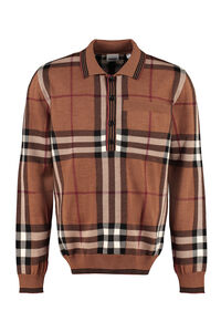 Wool pullover, Polo shirts Burberry man