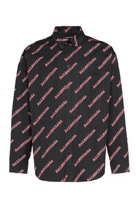 Printed cotton shirt, Printed Shirts Balenciaga man