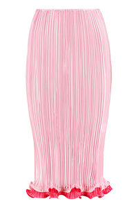 Pleated pencil skirt, Pleated skirts Versace woman