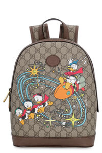 GG supreme fabric backpack - Donald Duck Disney x Gucci, Backpack Gucci man