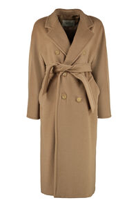 Madame double-breasted wool and cashmere coat, Double Breasted Max Mara woman