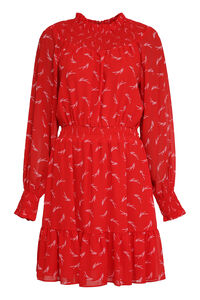 Printed crepe dress, Mini dresses MICHAEL MICHAEL KORS woman