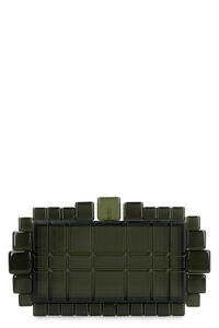 Eden acrylic box clutch, Clutch Cult Gaia woman
