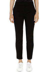 Stretch viscose trousers, Straight Leg pants Max Mara woman