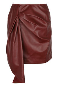 Faux leather mini skirt, Leather skirts Self-Portrait woman