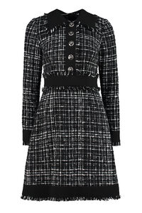 Tweed sheath dress, Knee Lenght Dresses Dolce & Gabbana woman