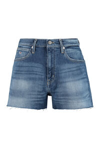 High-rise cut-off denim shorts, Denim Shorts Tommy Jeans woman