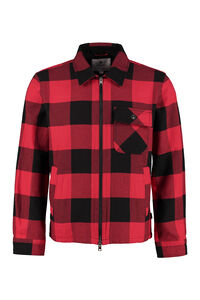 Buffalo checked overshirt, Raincoats And Windbreaker Woolrich man