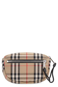 Vintage check pattern belt bag, Beltbag Burberry man