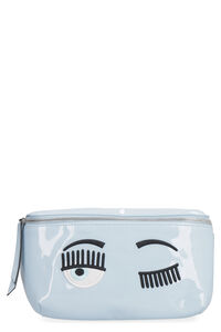 Flirting vinyl belt bag, Beltbag Chiara Ferragni Collection woman