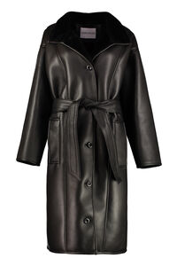 Krista faux leather jacket, Faux Fur and Shearling Stand Studio woman