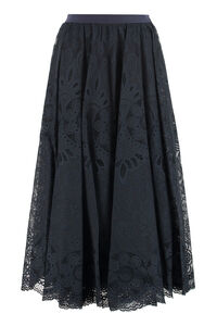 Lace midi skirt, Midi skirts Red Valentino woman