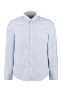 Cotton button-down shirt, Plain Shirts Carhartt man