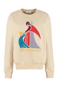 Printed cotton sweatshirt, Sweatshirts Lanvin woman
