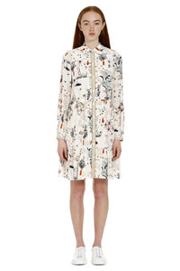 Cora printed silk shirtdress, Printed dresses Tory Burch woman