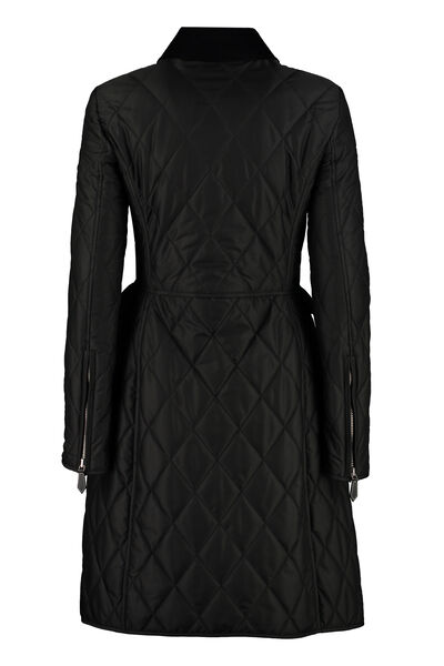 Quilted riding-coat