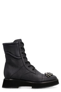 Hadley leather combat boots, Ankle Boots Jimmy Choo woman