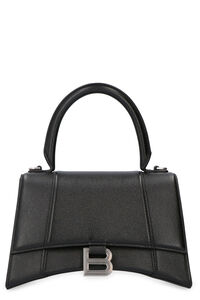 Hourglass leather mini-bag, Top handle Balenciaga woman