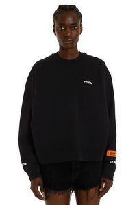 Embroidered cotton sweatshirt, Sweatshirts Heron Preston woman