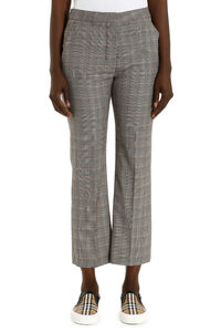 Carlie Prince of Wales check wool trousers, Trousers suits Stella McCartney woman