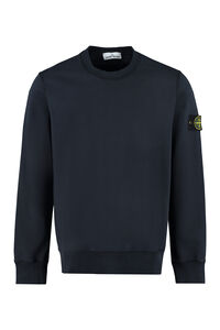 Cotton crew-neck sweatshirt, Sweatshirts Stone Island man