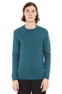 Merino wool crew-neck sweater, Crew necks sweaters Drumohr man