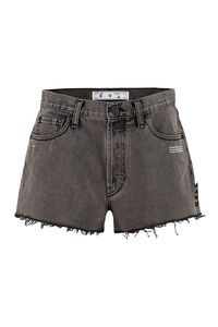 Denim shorts, Denim Shorts Off-White woman