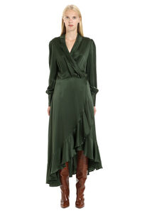 Espionage silk wrap-dress, Midi dresses Zimmermann woman