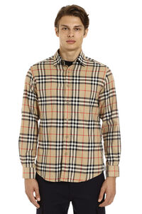 Vintage check flannel shirt, Checked Shirts Burberry man