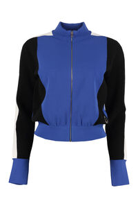 Felpa color-block con zip, Felpe con zip Stella McCartney woman
