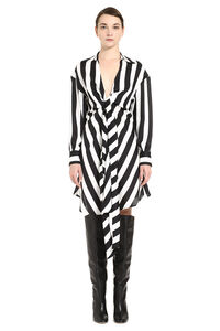 Striped twill shirtdress, Mini dresses MSGM woman