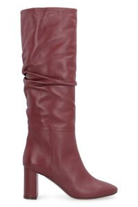 Leather boots, Heeled Boots L'Autre Chose woman