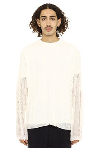 Popover open-work pullover, Crew necks sweaters Our Legacy man