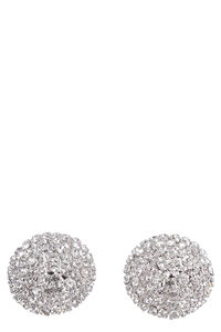 Faba maxi earrings with crystals, Earrings Alessandra Rich woman