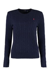 Cable knit sweater, Crew neck sweaters Polo Ralph Lauren woman