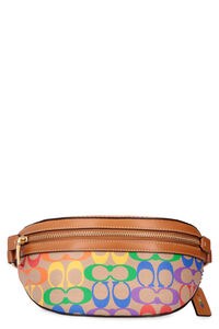 Bethany canvas belt bag with logo, Beltbag Coach woman