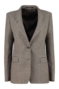 Houndstooth cotton-blend blazer, Blazers 0205 Tagliatore woman