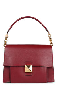 Diva leather shoulder bag, Top handle Furla woman