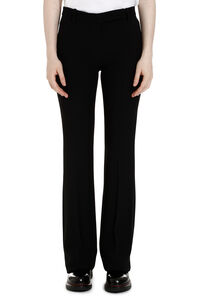Flared viscose trousers, Flared pants Alexander McQueen woman