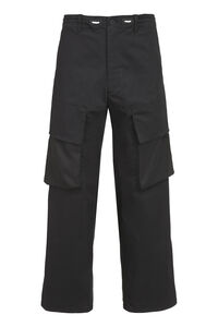 Cotton cargo-trousers, Casual trousers adidas Y-3 man