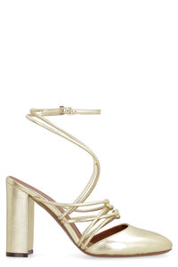 Metallic leather sandals, High Heels L'Autre Chose woman