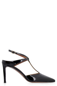 Patent leather pointy-toe slingback, High Heels L'Autre Chose woman